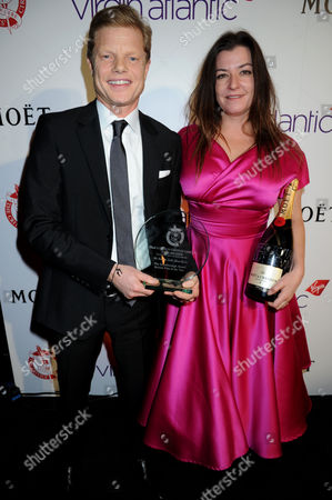 Stock Photo of Luc Roeg and Lynne Ramsay