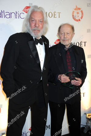 Donald Sutherland and Nicolas Roeg