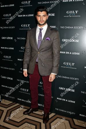 Editorial picture of 'Man On A Ledge' Cinema Society film screening, New York, America - 19 Jan 2012