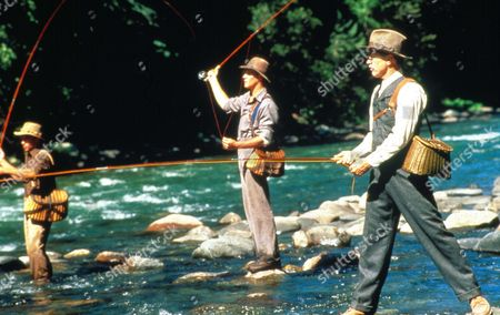 A River Runs Through It,  Brad Pitt,  Craig Sheffer,  Tom Skerritt
