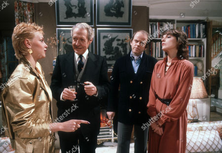 Leslie Ash as Ros Bedwell, Robin Bailey as Alan Calcutt, Julian Holloway as Lawrence and Marjorie Bland as Jane