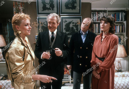 Stock Photo of Leslie Ash as Ros Bedwell, Robin Bailey as Alan Calcutt, Julian Holloway as Lawrence and Marjorie Bland as Jane