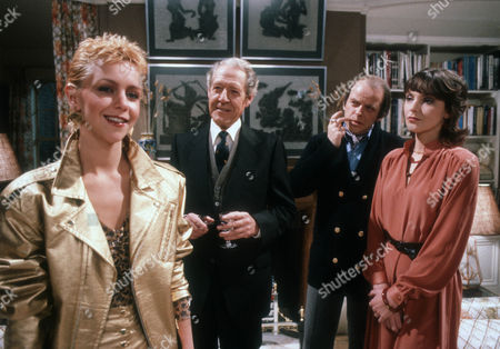 Stock Image of Leslie Ash as Ros Bedwell, Robin Bailey as Alan Calcutt, Julian Holloway as Lawrence and Marjorie Bland as Jane