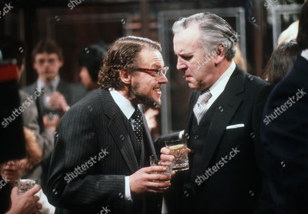 Stock Image of Bill Wallis as Tom and George Cole as Willie