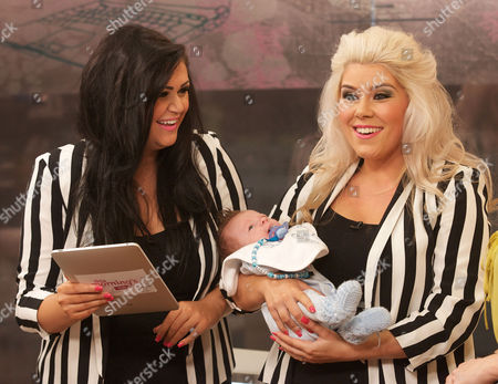 Two Shoes : Lucy Texeira and Charley Bird with Baby Beaux
