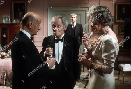 Roland Culver as Sir G, Alan Webb as the butler and Judy Campbell as The Lady