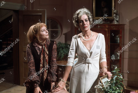 Judy Cornwell as Alice and Judy Campbell as The Lady