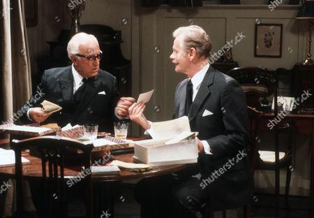 Stock Image of Cyril Luckham as Dr Baston and Allan Cuthbertson as John Callifer