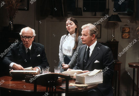 Stock Picture of Cyril Luckham as Dr Baston, Karin Foley as Anne and Allan Cuthbertson as John Callifer