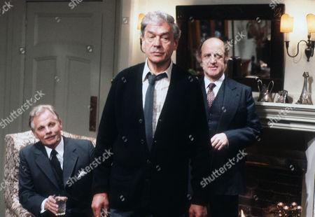 Allan Cuthbertson as John Callifer, Paul Scofield as James Callifer and David Swift as Dr Kreuzer