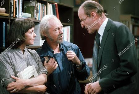 Dorothy Tutin as Joan, Michael Bryant as John and Frederick Treces as Grey