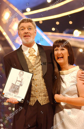 Matthew Kelly with Annie Sheppard who performs as Judith Durham