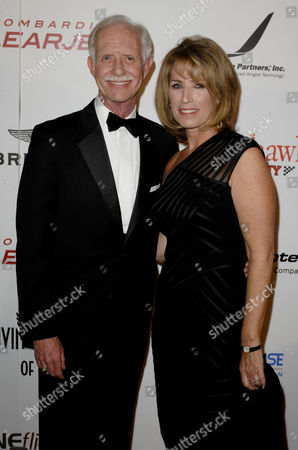 Captain Chesley B Sullenberger III & wife Lorrie Sullenberger