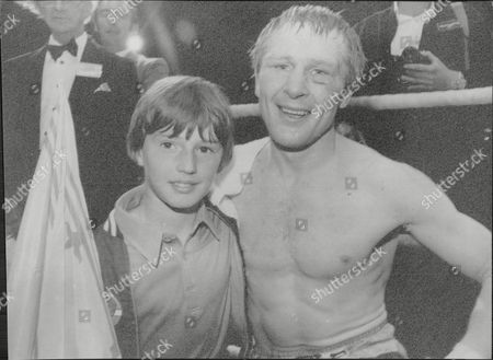 Jim Watt Boxer With His Unnamed Son 1980.