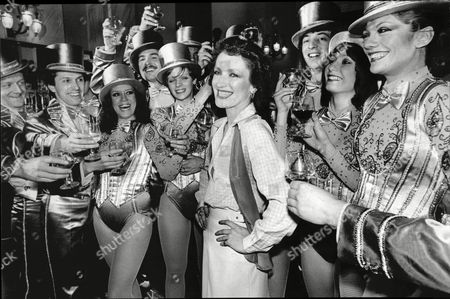 The Cast Of The Musical A Chorus Line Showing Petra Siniawski Who Is One Of The Dancers