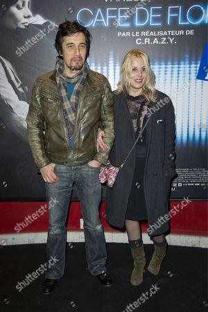 Florence Thomassin and Franck Langolff