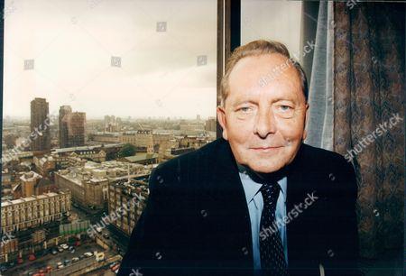 Editorial photo of Brian Walden Television Presenter