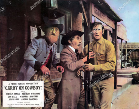 'Carry On Cowboy' -  Sydney Bromley, Kenneth Williams and  Jim Dale
