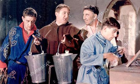 Crooks In Cloisters,  Bernard Cribbins,  Ronald Fraser,  Gregoire Aslan,  Davy Kaye
