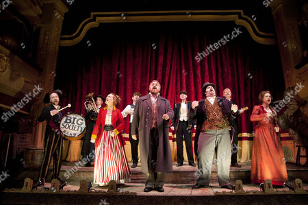 Harry Hamer as Magic Barry, Kyla Goodey as Beatrice, Phill Jupitus as George Lightfeather, Dean Nolan as Master of Ceremonies and Lisa Howard as Eve