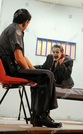 Rob Ostlere as Jailor, Paul McCleary as Ubu