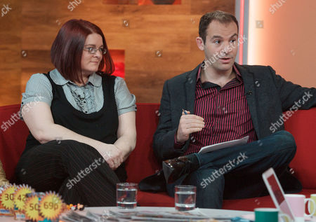 Stock Photo of Lisa Harrison and Martin Lewis