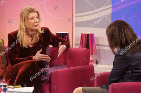 Tess Stimson and Lorraine Kelly