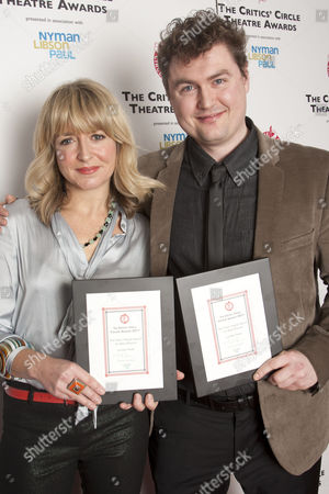 Editorial picture of The Critics' Circle Theatre Awards at the Prince of Wales Theatre, London, Britain - 24 Jan 2012