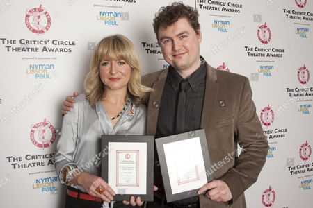 Editorial photo of The Critics' Circle Theatre Awards at the Prince of Wales Theatre, London, Britain - 24 Jan 2012