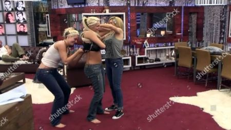 Karissa wants bigger boobs - Karissa Shannon and Kristina Shannon with Nicola McLean