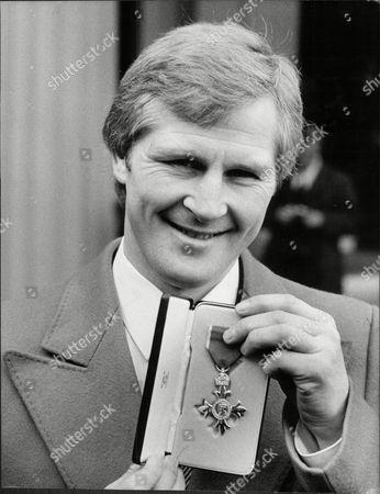 Jim Watt Boxer At Buckingham Palace With His Mbe 1980.