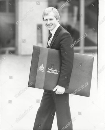 Jim Watt Boxer After Receiving Freedom Of The City Of Glasgow 1981.