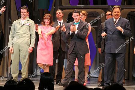 Michael Urie, Rose Hemingway, Nick Jonas and Beau Bridges