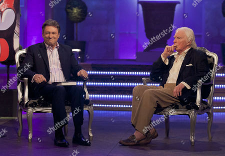 Alan Titchmarsh and Brian Sewell
