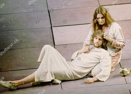 'Jesus Christ Superstar' - Paul Nicholas as Jesus and Dana Gillespie as Mary