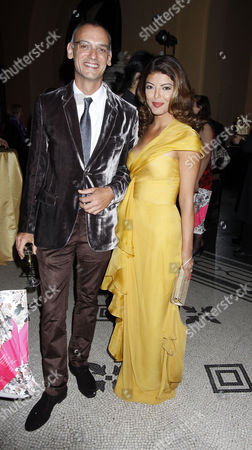 Nicholas Godley and partner Maya