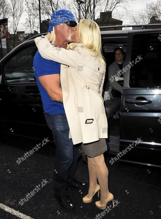 Editorial image of Hulk Hogan Out and About in London, Britain - 25 Jan 2012