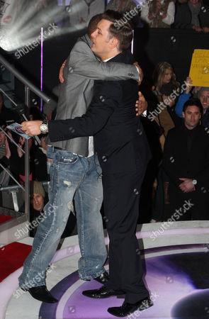 Stock Photo of Romeo Dunn and Brian Dowling