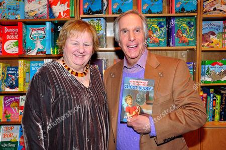 Editorial image of Henry Winkler 'Ghost Buddy' book signing, New York, America - 25 Jan 2012