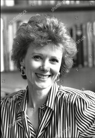 Editorial image of Patricia Shakesby Actress From Tv Drama Howard's Way 1988.