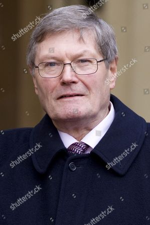 Stock Picture of Clive Collins received the MBE for services to art