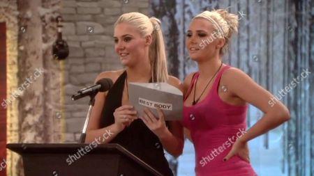 Big Brother Awards - Karissa and Kristina Shannon