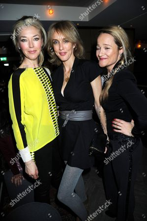 Tamara Beckwith, Sarah Woodfield and Tara Egece