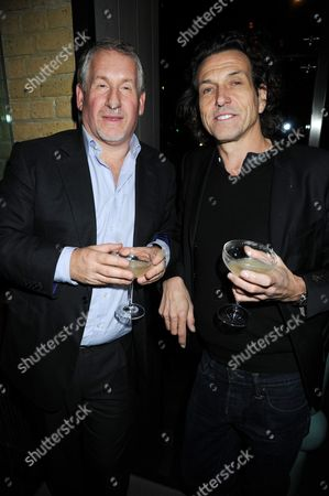 Stock Photo of Simon Kelner and Stephen Webster