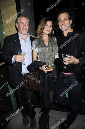 Editorial image of Jason Pomeranc and Mark Hix host Tara Bernerd's party at Hix restaurant, Belgraves Hotel, London, Britain - 26 Jan 2012