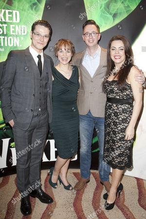 Editorial photo of 'Wicked' musical cast change, Apollo Victoria Theatre, London, Britain - 26 Jan 2012