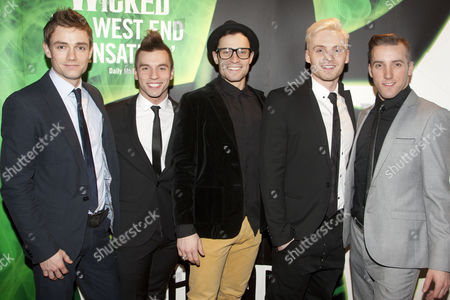 Editorial photo of 'Wicked' musical cast change, Apollo Victoria Theatre, London, Britain - 26 Jan 2012