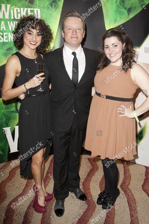 Sophie Carmen-Jones, Christopher Howell and Chloe Hart