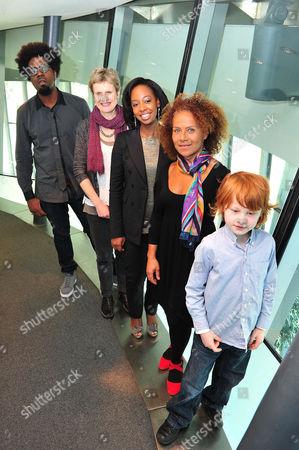 Soweto Kinch, Rachel Portman OBE Yolanda Brown, Chi-chi Nwanoku MBE, Spike Neye-Swift (7) from Ealing Drums