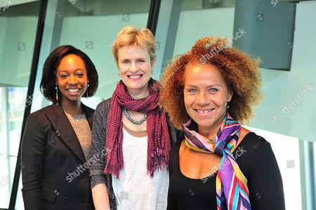 Yolanda Brown, Rachel Portman OBE and Chi-chi Nwanoku MBE
